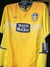 New Vintage Size XL  LEEDS UNITED 2003-04 WHYTE AND MACKAY Soccer Jersey