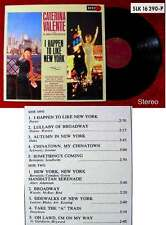 LP Caterina Valente: I Happen to Like New York (SLK 16 290 P)