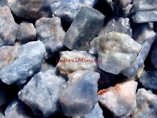 Natural BLUE CALCITE Rough - 3000 CARAT Lots - Lapidary Rock Supply, FREE Items