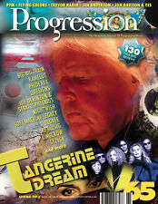 PROGRESSION MAG #65 (Spring 2013) Tangerine Dream, Yes, Ian Anderson, Rabin, PFM