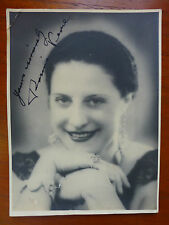 AUTOGRAPH of UNKNOWN Singer? Performer?