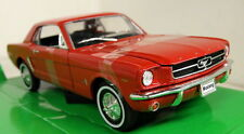 Nex 1/24 Scale 22451R Ford Mustang Coupe 1964 - Red Diecast model car