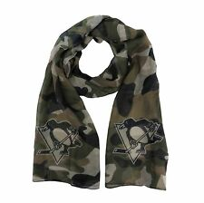 NEW PITTSBURGH PENGUINS SOFT SHEER CAMO FASHION SCARF LICENSED