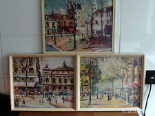 3 x Framed Prints by George Haan