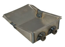 """1979-2009 Mustang High Flow Fuel Tank Sump Pan with 1/2"""" Fittings & Instructions"""