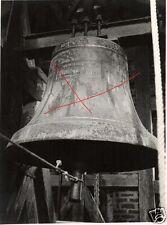 13264/ Originalfoto 8x11cm, Glocke Ulrich&Weule Bockenem Harz, 1924