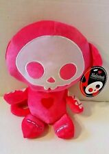 Skelanimals Hot Pink Marcy Monkey Plush 13""