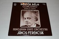 Bela Bartok~Concerto~Dance Suite~Janos Ferencsik~Hungarton 12346~FAST SHIPPING
