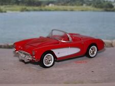 1957 57 CHEVY CORVETTE 1/61 SCALE DIECAST COLLECTIBLE MODEL DIORAMA OR DISPLAY