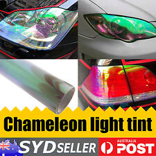 2M x 30CM Width Clear Chameleon Car Headlight Tint Film Tail Light Color Change