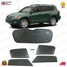 TOYOTA RAV4 SUNSHADE SET / SUN VISOR SETS 5 WINDOWS / 5 PCS, 2008 TO 2011