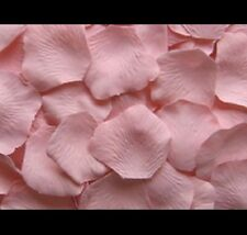 BLUSH PINK 100 Silk Artificial Rose Petals Flower girl, Wedding Decor