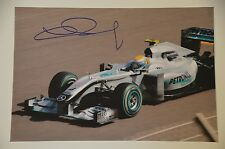 Nico Rosberg signed 20x30cm Foto Autogramm / Autograph  in Person . WM 2016 .