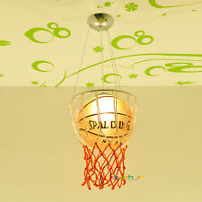 Basketball Pendant Lamp Chandelier Kid's Bedroom Lighting Ceiling Light Gift