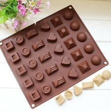 Silicone Heart Round Cake Decorating Mould Candy Cookies Chocolate Baking Mould