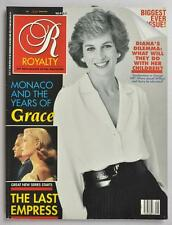 VINTAGE ROYALTY MONTHLY MAY 1989 PRINCESS DIANA