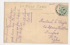 Master L. Waight, 24 Spring Hall Place, Newstead, Halifax 1910 Postcard, B106