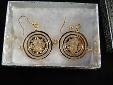 USA- Harry Potter Time Turner earrings,
