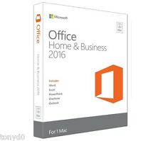 Microsoft Office 2016 Home and Business - Sealed 1 MAC License