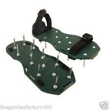 Lawn Aerator - Aerating Shoes / Sandals 13 x 5cm Spikes Per Shoe Ready Assembled