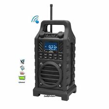 PWPBT250BK Rugged & Portable Bluetooth Speaker w/FM-Radio USB/SD AUX-IN