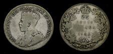 Canada 1936 Dot Silver 25 Twenty-Five Cent Piece VG-8 King George V