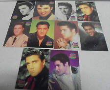 10 x Elvis Presley PORTRAITS-1992 The River Group Elvis Collection Trading Cards