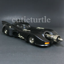 Hot Wheels Batman Returns Batmobile 1:18 Diecast Model Car Black CMC96