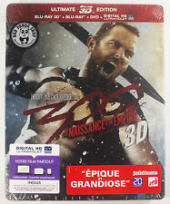300: Rise of an Empire Ultimate Steelbook 3D Blu-Ray Region Free France Version