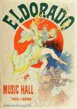 A4 photo CHERET, Jules les affiches illustrees 1896, eldorado imprimé Poster