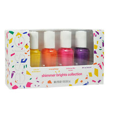 Essie Nail Polish Lacquers Shimmer Brights Collection Mini kit - 4x 0.16oz