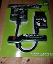 New Xbox 360 Headset Audio Adapter For HDMI Connections Mad Catz