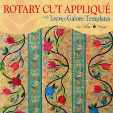 NEW BOOK: Rotary Cut Applique Using Leaves Galore Templates: An Owner's Manual