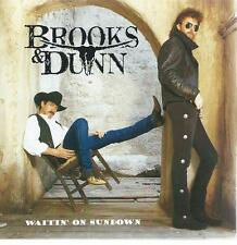 CD album - BROOKS & DUNN - WAITIN' ON SUNDOWN  country / pop