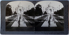 Keystone Stereoview of THE TAJ MAHAL at Agra, INDIA from the 1920's 400 Card Set