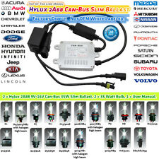 PHILIPS CAN-BUS Slim BALLASTS HID XENON KIT 2006 2007 2008 2009 2010 Civic 8000K