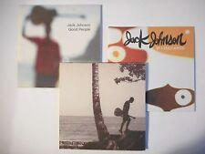 Unique Lot de 3 CD Single ▬ JACK JOHNSON ▬ Port GRATUIT