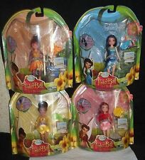 Disney Dolls LOST TREASURE MAGIC GLOW FAIRIES INDESSA ROSETTA SILVERMIST FAWN