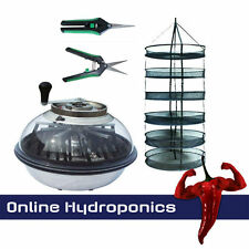 "HYDROPONICS XL 19"" BOWL BUD TRIMMER PLUS 90CM DRYING RACK AND SCISSORS"
