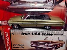 Auto World 1/64 1964 Ford Galaxie 500XL Conv - Beige - Vintage Muscle R3 #2 2014