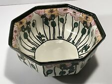 c1910 Royal Doulton D3225 Fruit Ball with Pink Poppies - Super Rare