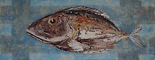 TIER PORTRAIT - FISCH - FISH - DORADE - BALI 2009 - ACRYL AUF LEINWAND