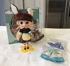 Mini Takara Petite Lemon Butter Blythe Doll Box 3 Ex. Outfits Stand Meet Outfit