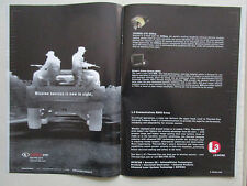 6/2007 PUB L3 COMMUNICATIONS THERMAL EYE DVS NIGHT VISION VISION NOCTURNE AD