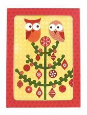 Holiday Owl Parcel Notes by Galison (2009, Novelty Book)