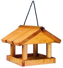 NUOVO in legno da appendere Uccello Tavolo per PET, Giardino Stazione di alimentazione, cure Uccelli Mangiatoia