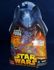 Star Wars: Revenge of the Sith HOLOGRAPHIC YODA Action Figure Hasbro ROTS 2005