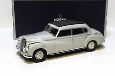1:18 Norev Mercedes 300 W186 Limousine 1955 grey NEW bei PREMIUM-MODELCARS