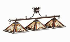 Pool Billiard Table Light Laredo Stained Glass 25-B54 25 B54 w/ FREE Shipping
