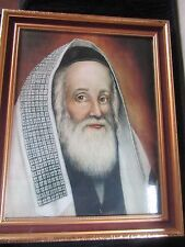 Framed Lithograph of Famous Painting By E. K. Tiefenbrun / London.Judaica